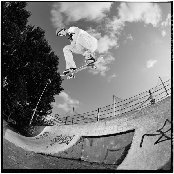Love Eneroth. BS Ollie at Wamma Park, the park they had before Suvilahti for quite a long time. Photo: Deeli