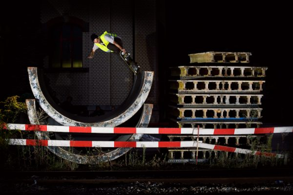 Roman Erhart. Tailblock.  Photo: Alan Maag.