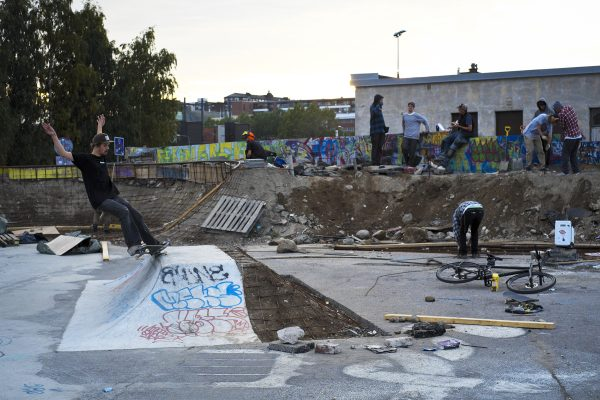 Aaro Lybeck. 5-0 while the crew are resting.  Photo: Samu Karvonen