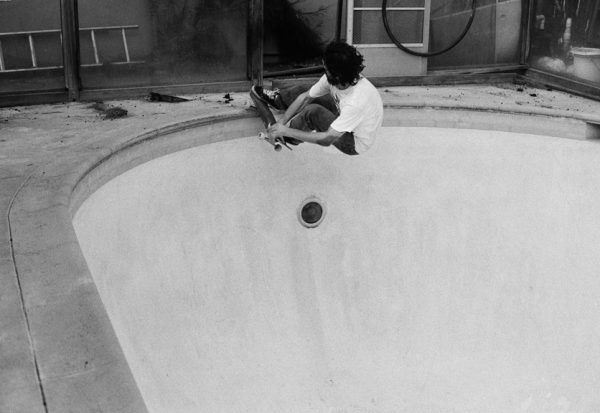 Brendan Klein on the other side of the lens. Crail slide.  Photo: Alex Horn
