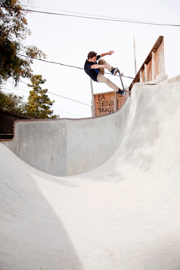 Alex Foy. Blunt to Fakie.  Photo: Keith Wilson