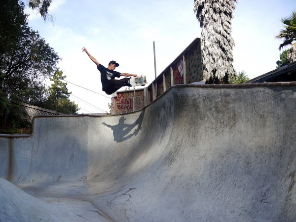 Max Shrädder from Germany stopped by Grandpa's during his California tour and got rad.