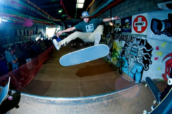 Danny Leon. Frontside kickflip for the win.