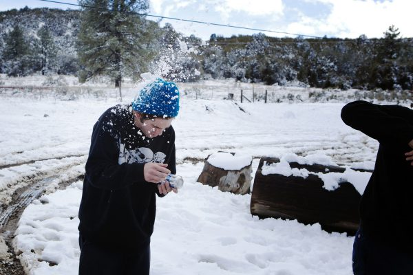 Ricky Holderby shotgun-snowball-fight