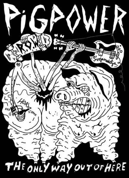 Pig Power tour poster
