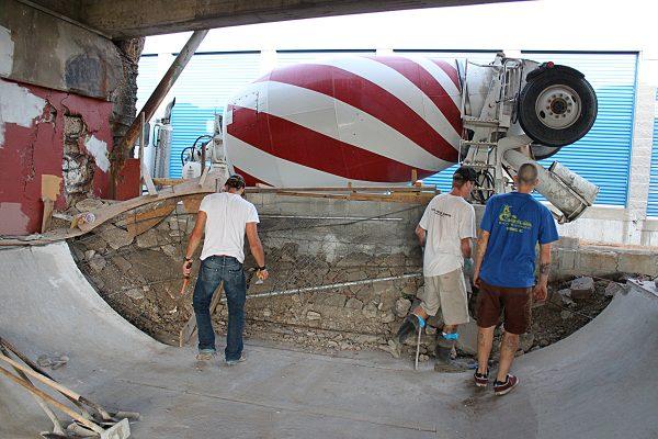 1st concrete-truck