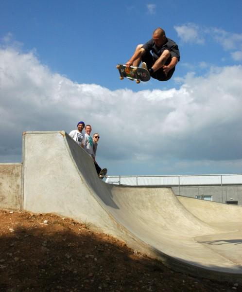 Josh. Frontside air.