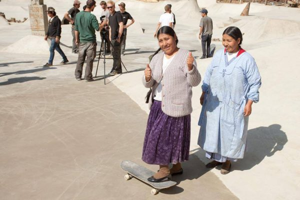 Bolivian Mama's, exited to skate the park