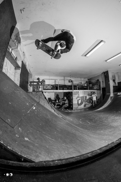 Michi Nadler. Backside grab.