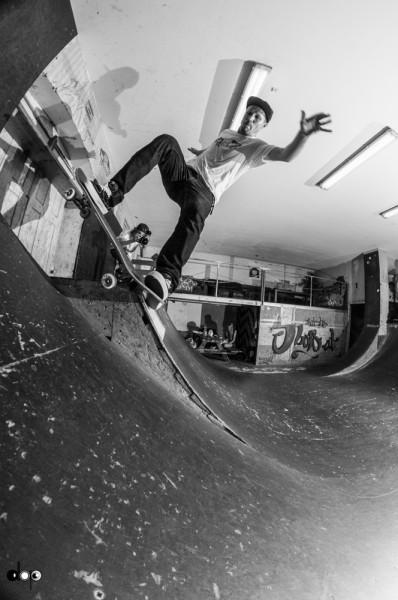 Michi Nadler. Noseblunt slide.