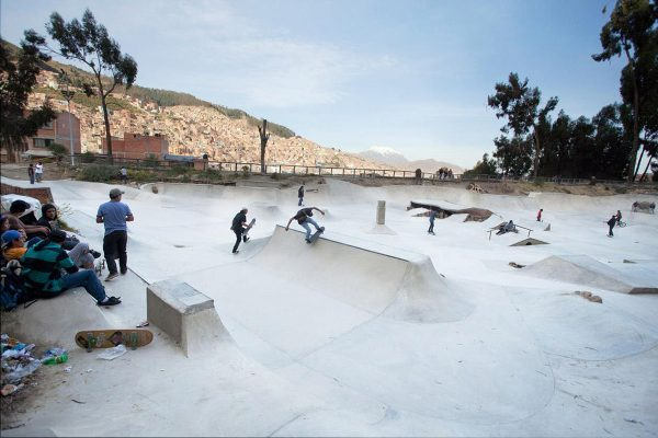 mimiramp session. Photo: association de skate