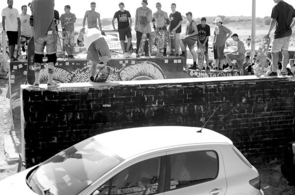 "Carlos Neira. BS Lipslide. Photo: J.A. Catillejo ""bhaki"""