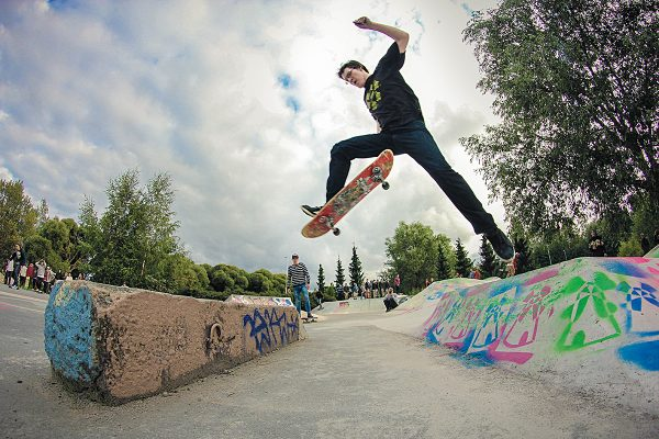 Mr. Keisari no-complying the new kicker gap thing photo: Viltsu