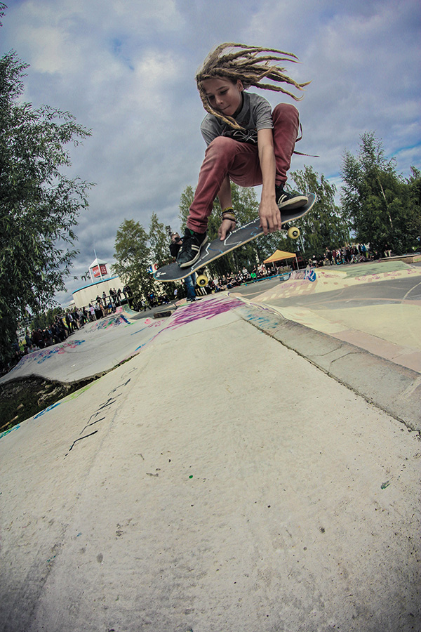 Samu Sundell from Tuusula double grab transfer photo: Viltsu