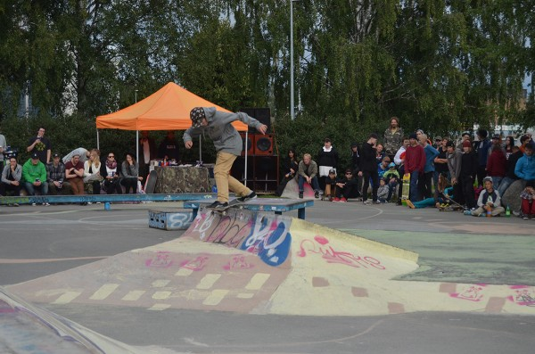 In case you end up at Mini some day, this kid Juho is propably there already. Daily bs lipslide transfer. photo:Vilkgrund