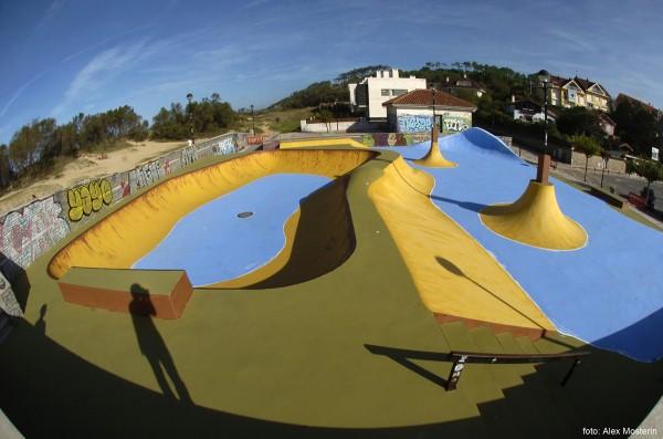 Somo Skatepark. Cantabria, Spain.