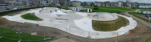 You could call this a decent skatepark extension