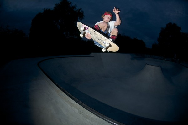 Kupa also built this bowl. Massive stalefish in the middle end. Photo: J. Hay