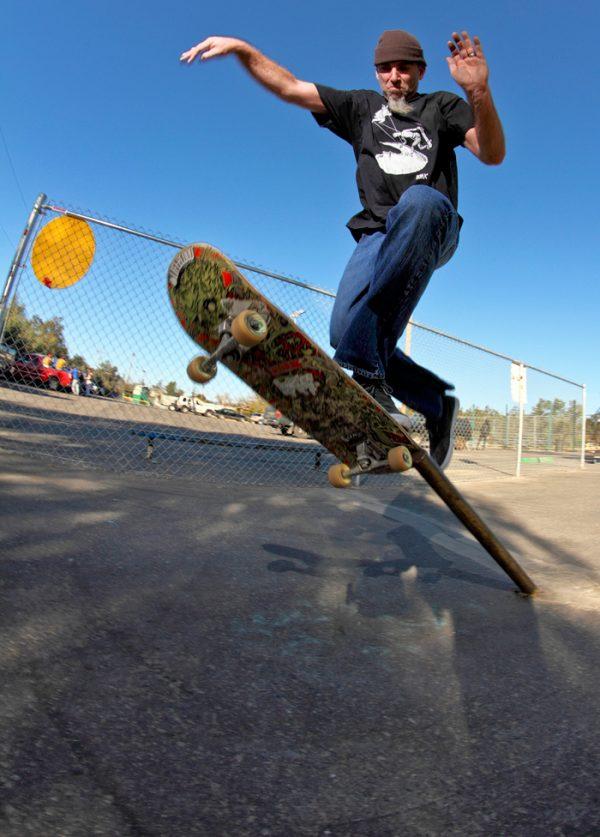 Clayton Graul. Pole jam.  Photo: Kasper Tobias