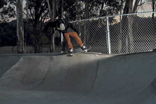 Dustin Hayes. BS Feeble. Photo: Kasper Tobias
