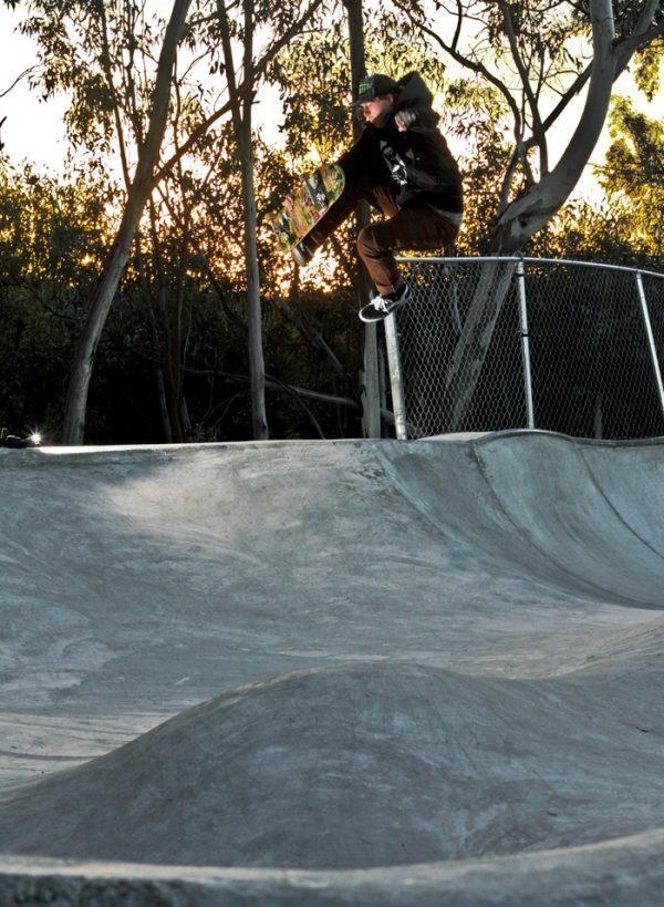 Dustin Hayes. Boneless over the hip. Photo: Kasper Tobias