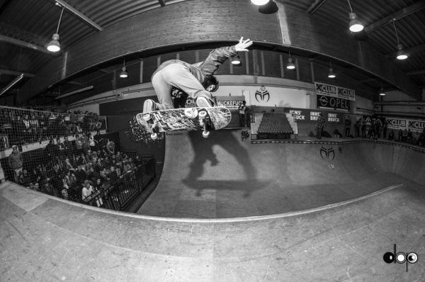 Julien Benoliel. Backside ollie