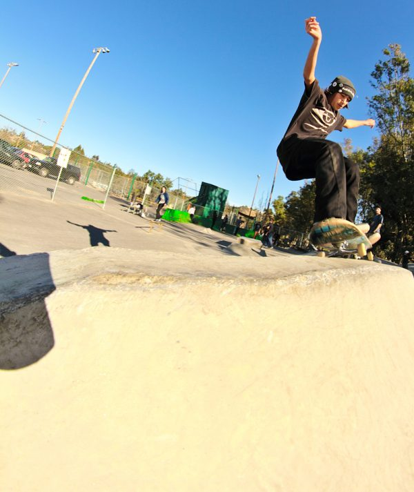 Manny Gomez. 50-50 to pull in.