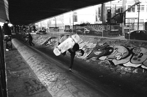 Matt Bromley. Owner of Blast Skates.