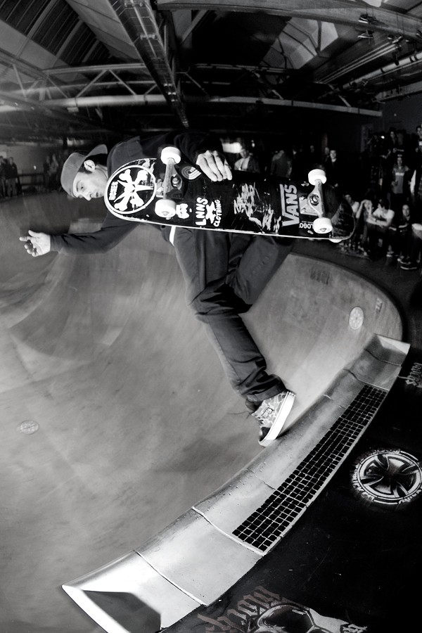 Diego Doural. Backside boneless from the extension.