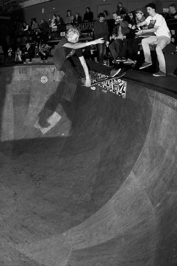 Robiaan Fifield. Crail slide.