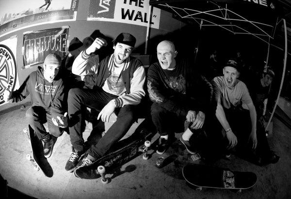 Diego Doural, Ben, Jake Snelling, Joe Howard and Mike van der Ouderaa.