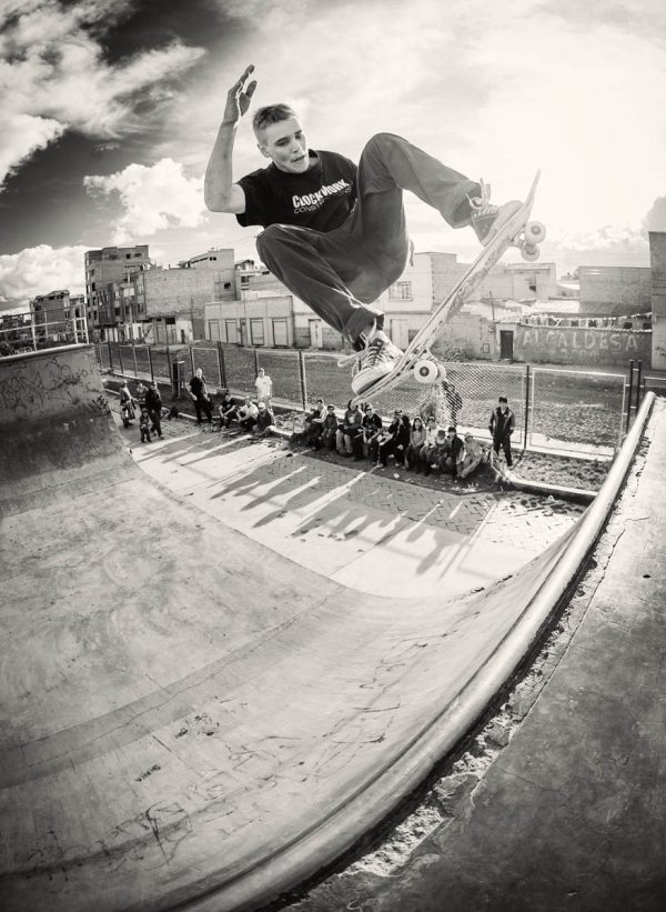 Eric Coleman. Ollie disaster