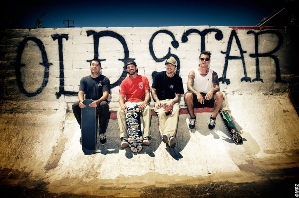 The OldStar crew minus Dan. Boka, Carter, Jim and Chirs. Photo: MRZ