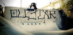 Matt Miskal wallrides over the quarter. Photo: MRZ