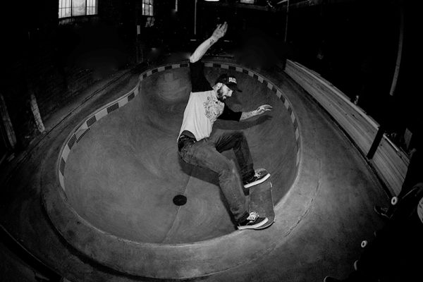 Shoota was mid chemotherapy at this session. You could see it was taking it's toll, but he was skating like a man possessed. Full length, full speed.