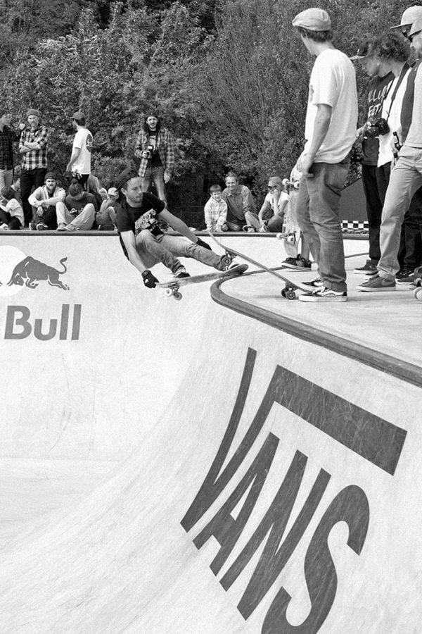 Koekie. Lien slide over the hip.  Photo: J. Hay