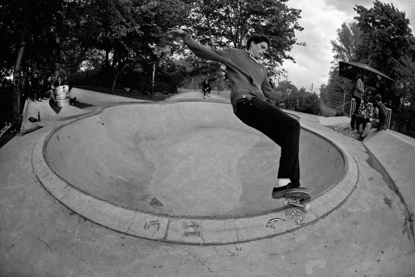 Tom Sculze. Front smith. Photo: J. Hay