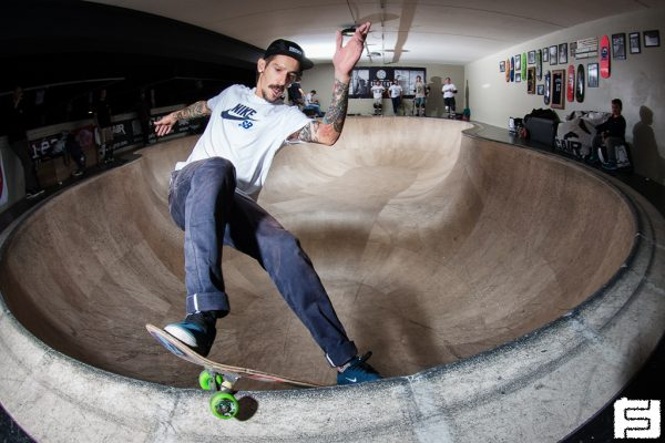 Luca Crestani. Smith grind. Big Air Lab.