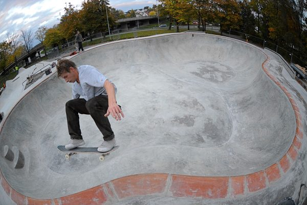Rasmus Sand. Ollie at Fredrikstad. Photo: Henning Braaten