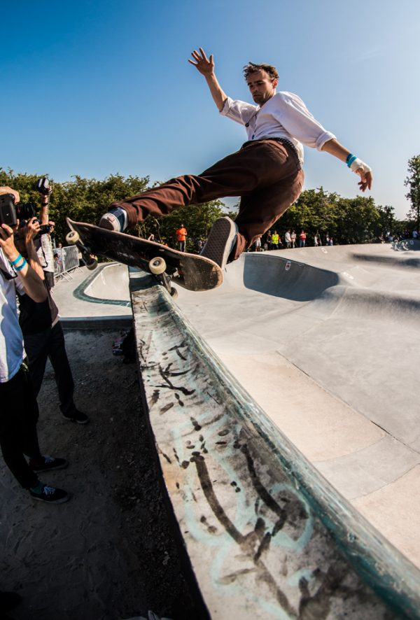 Alex Hallford. Frontside hurricane. Photo: Amin Olve Klungseth Ullah