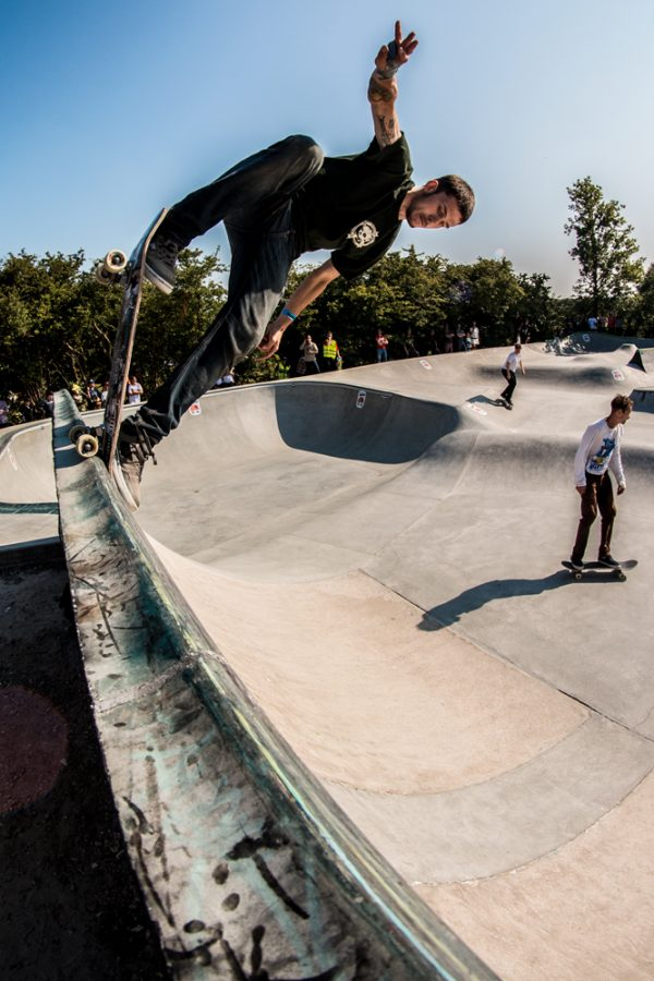 Jens Andersson. Backside blunt. Photo:  Amin Olve Klungseth Ullah