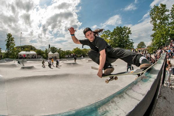 Tim Bijsterveld. Crail slide.  Photo: Nicola Debernardi