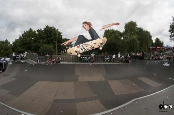 Sjoerd Vissers. Ollie over the hip. Photo: Nicola Debernardi