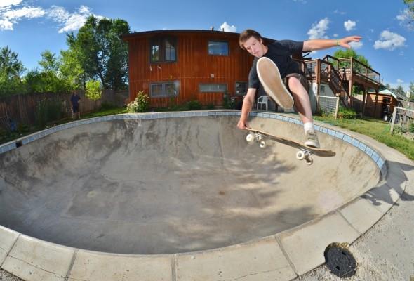 Frontside judo. Carbondale, Colorado.