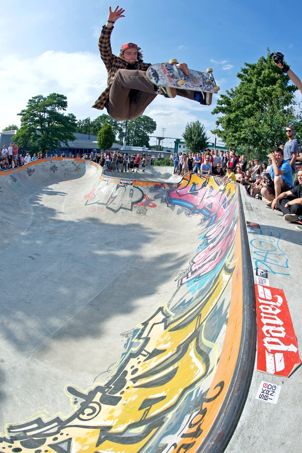 Tom Tieste. Wild man frontside air.