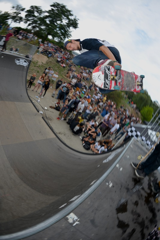 Robin Schulze. Backside air.