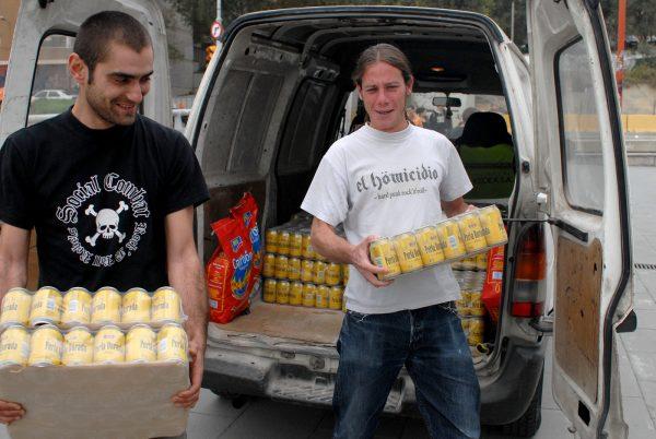 1000 free beers. Photo: J. Hay