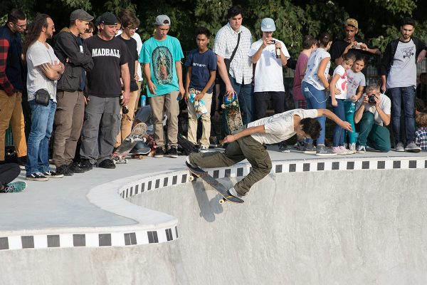 Aref Koushesh backside tailslide