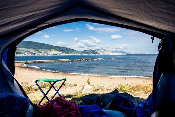 Tent life sucks...