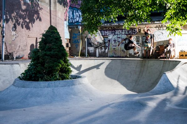 Frontside Disaster. Mellow Park. Berlin.